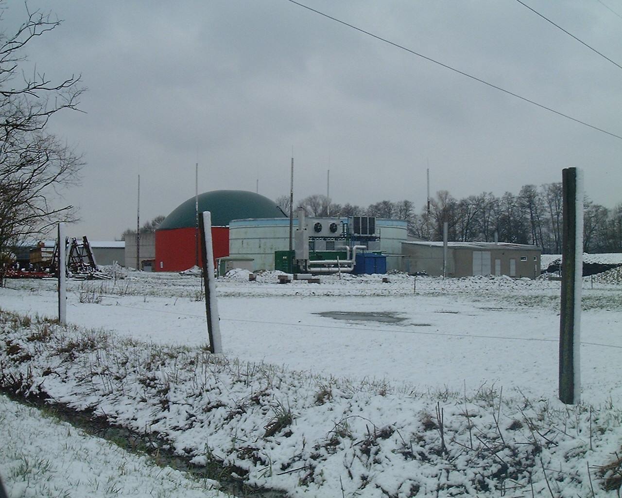 Biogázerőmű, Zalaszentmihály